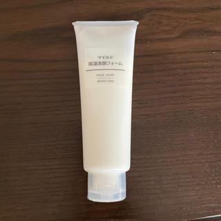 ムジルシリョウヒン(MUJI (無印良品))の無印良品 マイルド保湿洗顔フォーム(洗顔料)