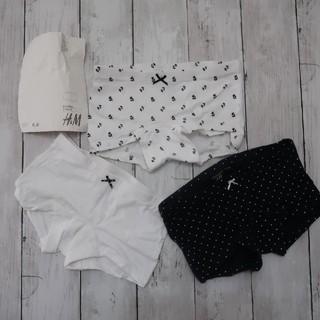 エイチアンドエム(H&M)のH&M3枚組 98-104cm女の子 パンツ 下着インナー(下着)