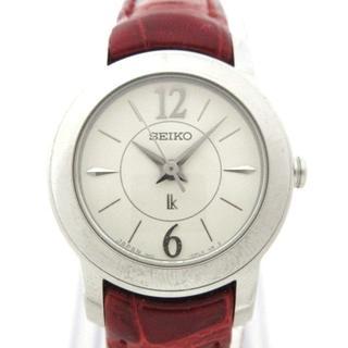セイコー(SEIKO)のセイコー 腕時計 ルキア 1N01-0HE0 白(腕時計)