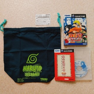 ニンテンドーゲームキューブ(ニンテンドーゲームキューブ)のNARUTO 激闘忍者大戦 初回購入特典付き(家庭用ゲームソフト)