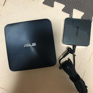 エイスース(ASUS)のASUSコンパクトデスクトップPC UN65 VivoMini(デスクトップ型PC)