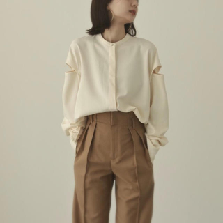 TODAYFUL - louren  shoulder cut over blouse