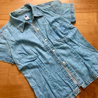 ギャップ(GAP)のgap デニムシャツ(シャツ/ブラウス(半袖/袖なし))
