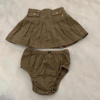 ベビーギャップ(babyGAP)のGAP ブルマ付スカート 12-18month(スカート)