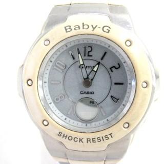 カシオ(CASIO)のカシオ 腕時計 Baby-G MSG-3000CJ シルバー(腕時計)