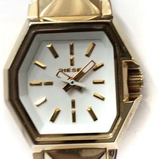 ディーゼル(DIESEL)のディーゼル 腕時計 DZ-5353 レディース 白(腕時計)