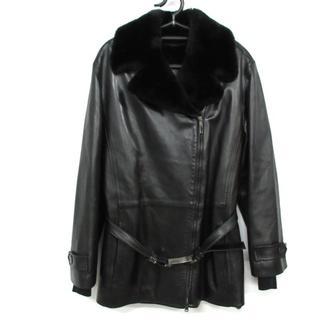 グッチ(Gucci)のグッチ コート サイズ40 M レディース 黒(その他)