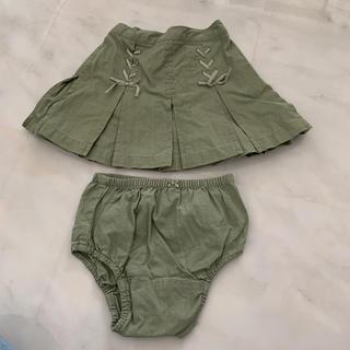 ベビーギャップ(babyGAP)のGAP ブルマ付スカート 80(スカート)