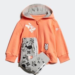 アディダス(adidas)の【新品】ディズニー ミニーマウス ジョガーセット /Disney 80(トレーナー)
