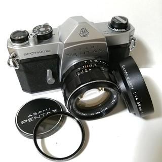 PENTAX - ペンタックスSP、大口径50mm F1.4レンズ付属品あり