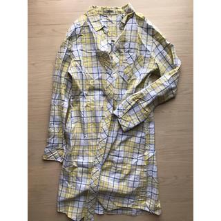 ラフ(rough)のロングシャツ チェックシャツ(シャツ/ブラウス(長袖/七分))