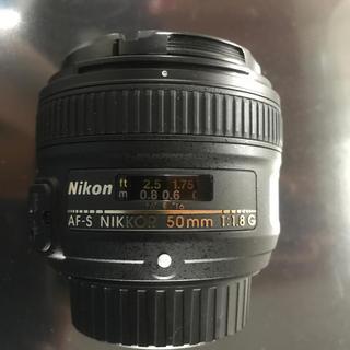 Nikon - nikkor 50mm f1.8 G AF-S Fマウント nikon
