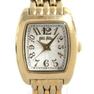フォリフォリ(Folli Follie)のフォリフォリ 腕時計 WF5G143BPS 白(腕時計)