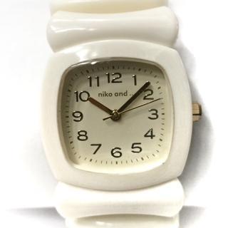 ニコアンド 腕時計 レディース アイボリー(腕時計)