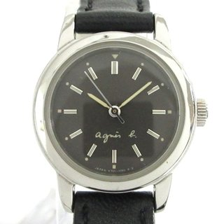 アニエスベー(agnes b.)のアニエスベー 腕時計 V701-1160 レディース(腕時計)