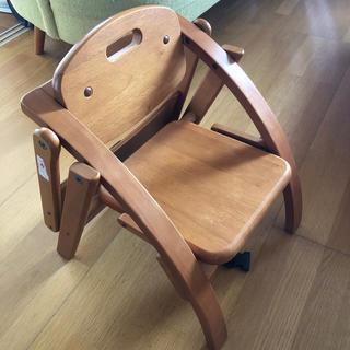 ヤマトヤ(大和屋)のarch木製ローチェアベビーチェア椅子兼食事用(その他)