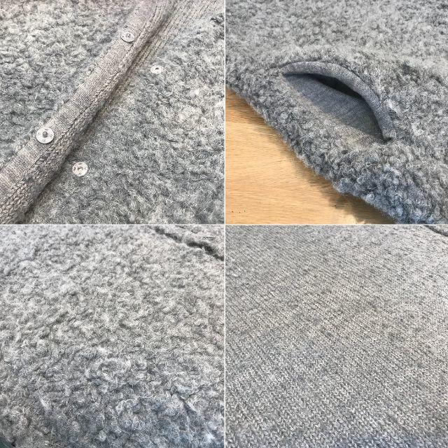DOUBLE STANDARD CLOTHING(ダブルスタンダードクロージング)の美品 ダブルスタンダード ダブスタ ベスト ジレ グレー アルパカ 36 レディースのトップス(ベスト/ジレ)の商品写真