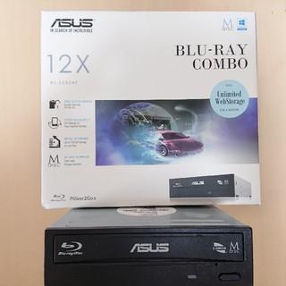 エイスース(ASUS)のASUS ブルーレイドライブ BC-12D2HT(PC周辺機器)