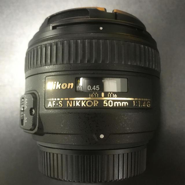 Nikon(ニコン)のnikkor 50mm  f1.4 G nikon スマホ/家電/カメラのカメラ(レンズ(単焦点))の商品写真