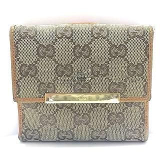 グッチ(Gucci)のGUCCI(グッチ) Wホック財布 GG柄 112664(財布)