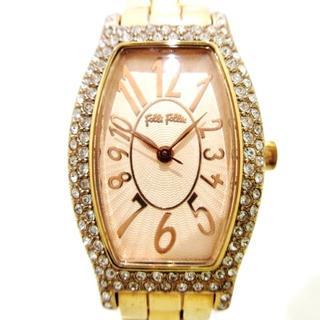 フォリフォリ(Folli Follie)のフォリフォリ 腕時計美品  - WF5R084BP(腕時計)