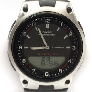 カシオ(CASIO)のカシオ 腕時計美品  イルミネーター AW-80(腕時計)