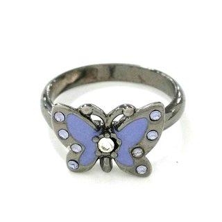 アナスイ(ANNA SUI)のアナスイ リング 金属素材×ラインストーン(リング(指輪))