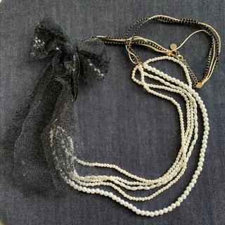 ヴィス(ViS)のVIS パール風ネックレス ブライダル 結婚式(ネックレス)