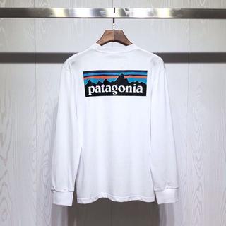 patagonia -  【ヒット】新品 Patagonia ロングTシャツ Lサイズ  ホワイト