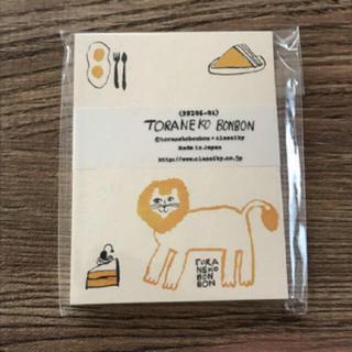新品。トラネコボンボン メッセージカード(その他)