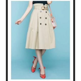 ダズリン(dazzlin)のダズリン  トレンチライクミモレスカート(ひざ丈スカート)