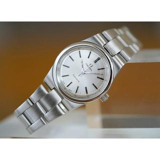 オメガ(OMEGA)の美品 オメガ ジュネーブ シルバー 手巻き レディース Omega(腕時計)
