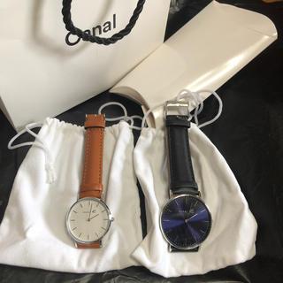 カナルヨンドシー(canal4℃)のcanal 4℃ ペアウォッチ ブライダルフェア 腕時計(腕時計)