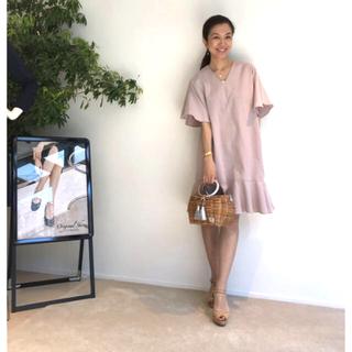 ワコール(Wacoal)のVIRINA♡ヴィリーナのデイジーナーシングドレス ピンク 授乳口つき S(マタニティワンピース)