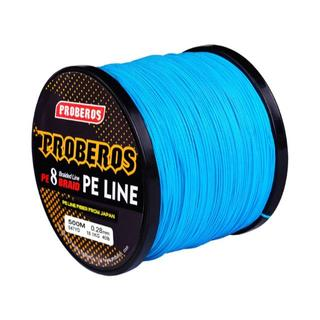 PEライン 8編 高強度 PRO 1号 15lb/500m巻き カラー/ブルー(釣り糸/ライン)