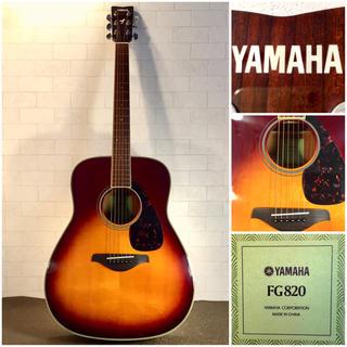 ヤマハ - 1092.YAMAHA FG820/トップ単板/低弦高調整/エレアコ‼️