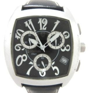 ランカスター 腕時計 0251 レディース 黒(腕時計)