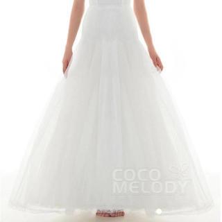 エメ(AIMER)のウェディングドレス ロングパニエ ブライダル(ウェディングドレス)
