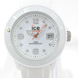 アイスウォッチ 腕時計 SI.WE.U.S.09 白(腕時計)