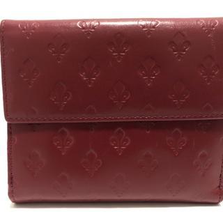 パトリックコックス(PATRICK COX)のパトリックコックス Wホック財布 ボルドー(財布)