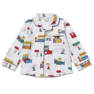 ジェラートピケ(gelato pique)のジェラートピケ×スヌーピー kids ネルシャツ(パジャマ)