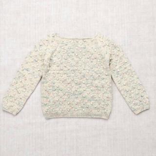 Caramel baby&child  - misha&puff Cotton popcorn sweater