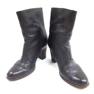 クラークス(Clarks)のクラークス ショートブーツ 3 1/2 黒(ブーツ)