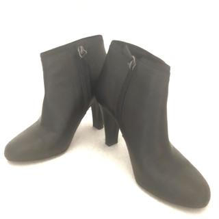 アンテプリマ(ANTEPRIMA)のアンテプリマ ショートブーツ 22 黒 レザー(ブーツ)