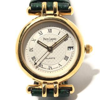 ピエールラニエ 腕時計美品  160 ベージュ(腕時計)