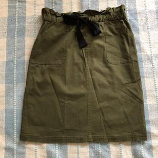 ルカ(LUCA)のタイトスカート LUCA  M カーキ(ひざ丈スカート)