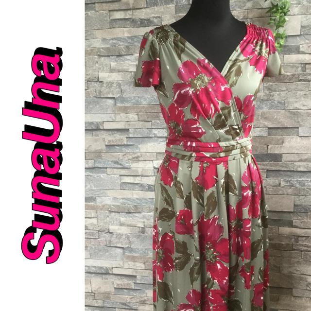 SunaUna(スーナウーナ)の◆SunaUna・スーナウーナ・ワンピース・サイズ38 レディースのワンピース(ひざ丈ワンピース)の商品写真