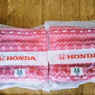 ホンダ(ホンダ)の値下げしました HONDA Nコロくんロールマルチクッション二個(ノベルティグッズ)