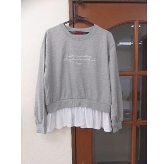 レピピアルマリオ(repipi armario)の美品 レピピアルマリオ   カットソー サイズL(Tシャツ/カットソー)