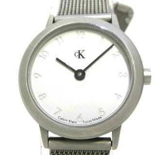 カルバンクライン(Calvin Klein)のカルバンクライン 腕時計 K3231/K3232 白(腕時計)